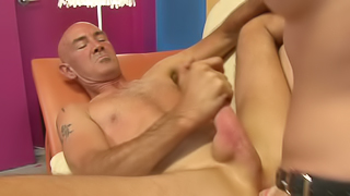 Old man needs a remarkable chick with strap-on for dirty actions