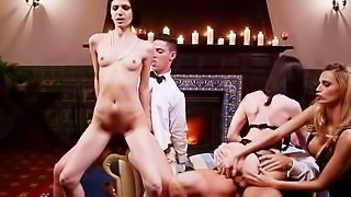 Awesome sex party with hot pornstars