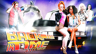 Alyssa Divine, Cathy Heaven, Danny D, Pascal White in Back In Time: A XXX Parody - DigitalPlayground