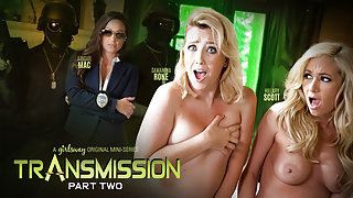 Abigail Mac & Samantha Rone & Hillary Scott in Transmission: Part Two - GirlsWay