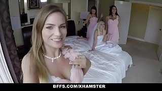 BFFS - One quick Orgy before Wedding