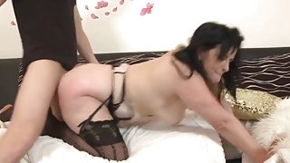 Hot milf and her younger lover 726