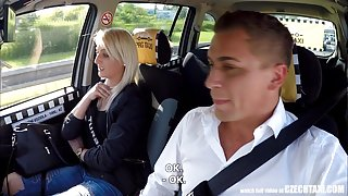Unbelievable Reality - Strangers Voyeurs Watching Czech TAXI
