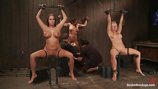 Trina Michaels Holly Heart and Christina Carter Part 4 of 4 of the August Live Feed