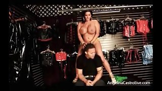 Angelina Castro takes her little...