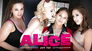 Sara Luvv & Serena Blair & Abigail Mac in The Faces of Alice: Part Four - GirlsWay