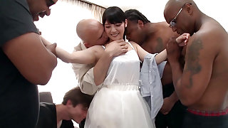Rei Mizuna in Rei Does Her First Interracial Gangbang - TeensOfTokyo