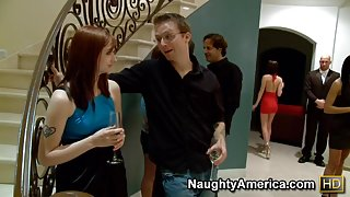 Amy Ried & Justice Young in My Dad Shot Girlfriend
