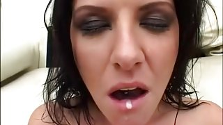 Incredible pornstars Shawna Lenee and Cristina Agave in crazy swallow, cumshots porn video